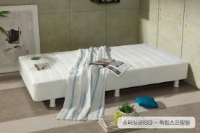 솔리2 일체형 슈퍼싱글침대(SS)-독립스프링형(헤드쿠션제외)/