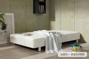 솔리2 일체형 싱글침대(S)-본넬스프링형(헤드쿠션제외)/