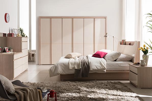 뉴에밀리 장롱(7문) 침실세트