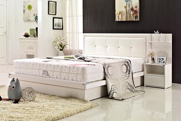 로맨틱 에디션 침대(K)(에코필 3D 7존텐셀독립 매트리스)