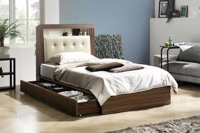멀티LED 침대(SS)(에코필 7zone 텐셀 라텍스 독립매트리스)/