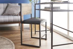 하리오 빈티지 원목 철제 의자/