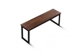 인디 스틸 멀바우 테이블 벤치 1400/