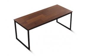 인디 스틸 멀바우 테이블 식탁 1800/