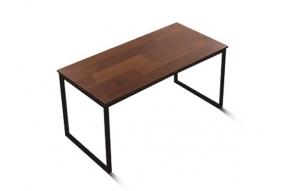 인디 스틸 멀바우 테이블 식탁 1600/