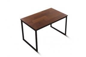 인디 스틸 멀바우 테이블 식탁 1200/