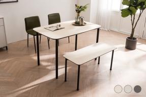 뮤즈 클린터치 모던감성 식탁세트 1200(의자2+벤치1)/